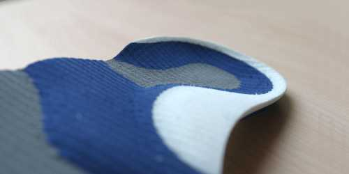 Custom podiatric insole, created by Last Foot Technology