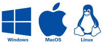 logos of Windows, Apple and Linux