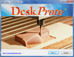 The DeskProto Setup wizard