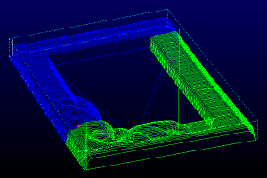 Sorted toolpaths