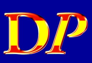 DP logo in Spanish colors