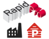 Logo of the RapidPro event