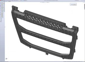 SolidWorks screenshot with geometry