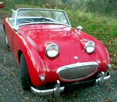 An original Austin Healey