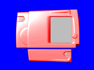 screenshot: simple rendering of a camera