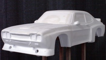 The resulting Capri model in PolyStyrene