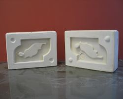 Plaster production mould