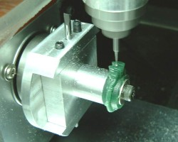 Rotation axis milling