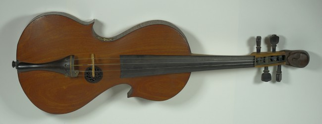 Asymmetrical violin
