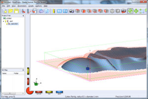 Toolpaths for one layer, entry edition
