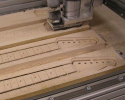 Deskproto Gallery Cnc Machining A Guitar Neck And Body