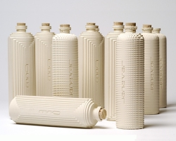 Series of bottles