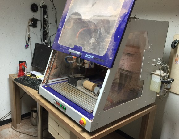 The CNC milling machine
