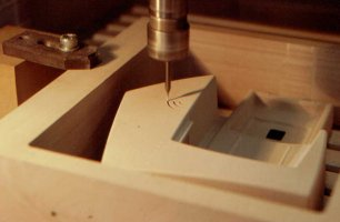 On the milling machine