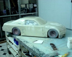 The resulting model, before painting
