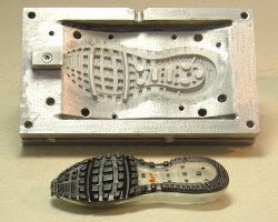Mold for the sole