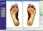 color scan of a foot