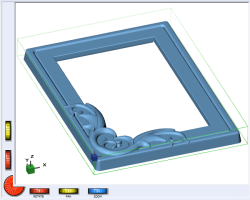 DeskProto screenshot of the DpPictureFrame model