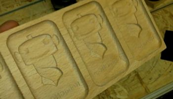 The wooden cookie mold