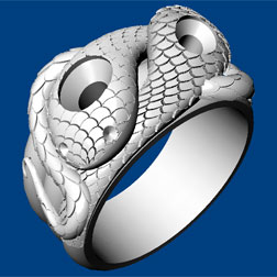 Ring design in Rhino