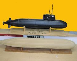 The resulting boat model