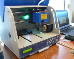 The Magic 7 CNC milling machine