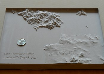 The resulting relief model