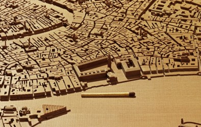 Detail view (San Marco) of the Venice model